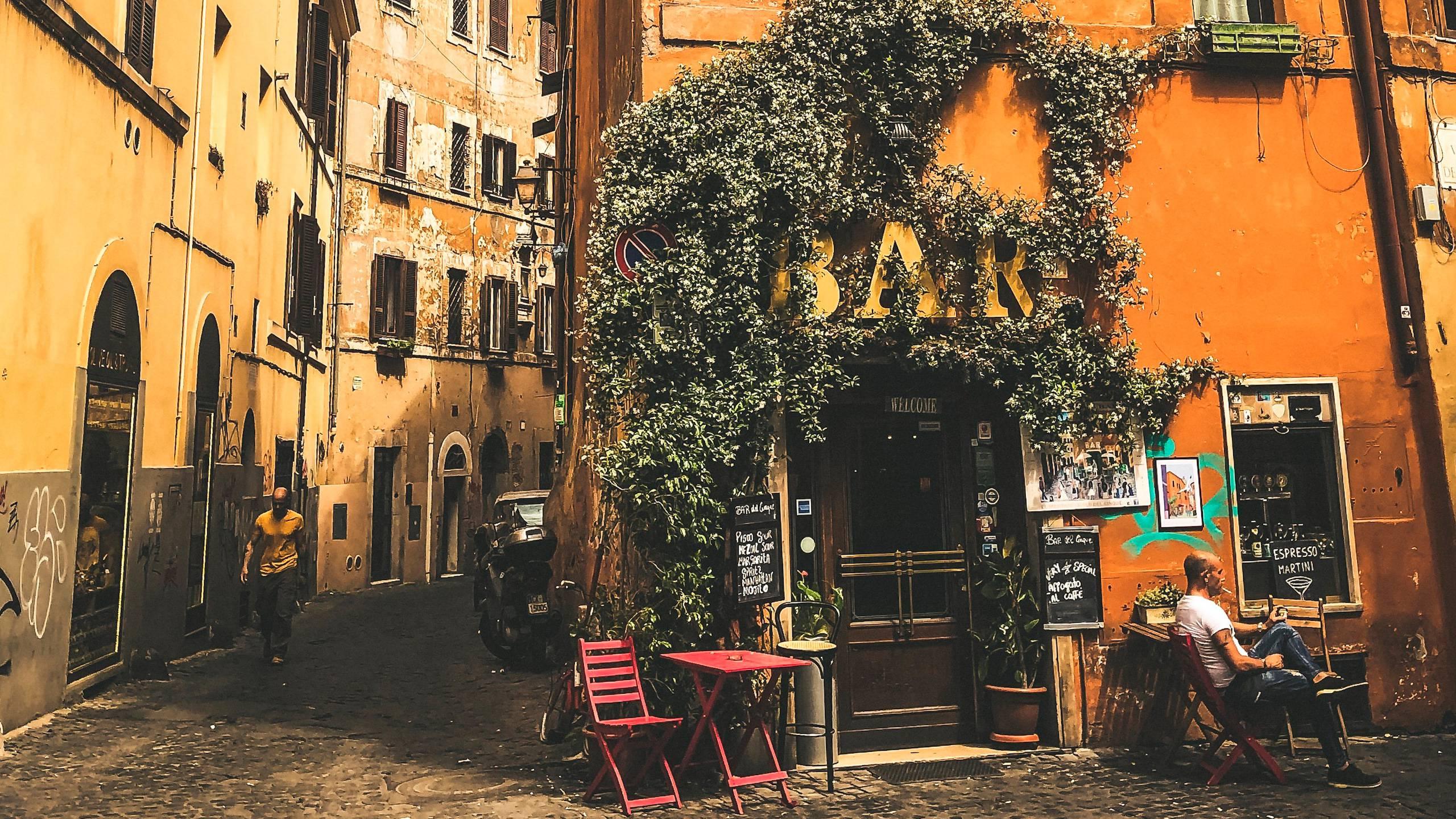 Hotel-Trastevere-Roma-Via-Romana